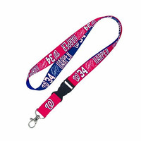 MLB Washington Nationals Bryce Harper Lanyard with Detachable Buckle