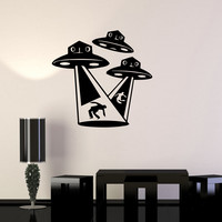 Wall Stickers Vinyl Decal Aliens UFO Fantasy Supernatural Mystery Kids (ig1683)