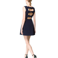 DRESS WITH KNOTTED PANELS AT THE BACK - Dresses - Woman - New collection | ZARA United States