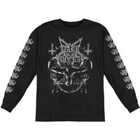 Dark Funeral Men's  Crucified  Long Sleeve Black