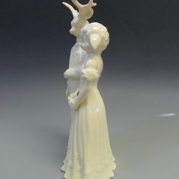 Deer/Buck and Sheep Wedding Cake Topper