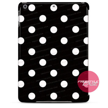 Black and White Kate Spade Polkadot iPad Case 2, 3, 4, Air, Mini Cover