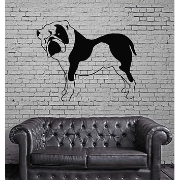 Dog Pet Funny Animal Kids Children Mural Wall Art Decor Vinyl Sticker Unique Gift z566