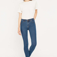 Dr. Denim Plenty Mid-Rise Stone Wash Skinny Jeans - Urban Outfitters