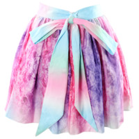 Ballerina Purple Watercolor Skirt