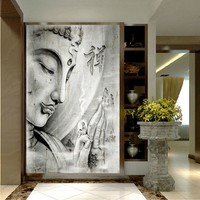 HD Print White Religion Buddha Painting on canvas wall art print home decor wall art picture living room decor painting /PT0565