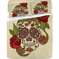 DENY Designs Home Accessories | Valentina Ramos Sugar Skull Sheet Set