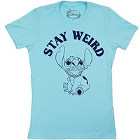 Lilo and Stitch Stay Weird Juniors T-shirt