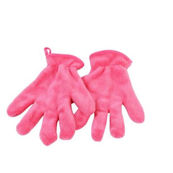 Microfiber MakeUp Removal Facial Cloth Gloves Towel Beauty Skin face Washcloth