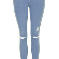 MOTO Pretty Blue Leigh Jeans - Blue