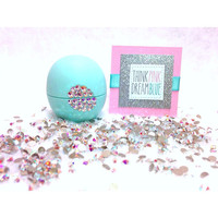 Sweet Mint Swarovski Crystalized EOS Lip Balm