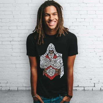 Men's Assassin's Creed Typography T-Shirt