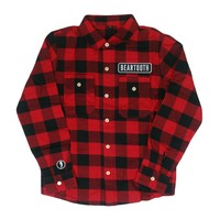 Custom Red/Black Flannel : BRT0 : MerchNOW - Your Favorite Band Merch, Music and More