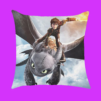 How To Train Your Dragon 2 - Pillow Case, Rectangle Pillow One Side/Two Sides.