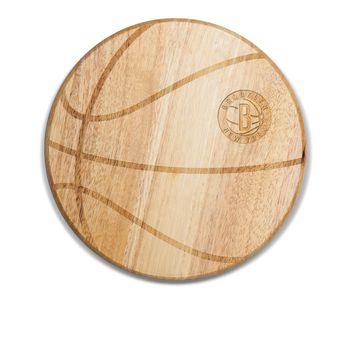 Brooklyn Nets - 'Free Throw' Basketball Cutting Board & Serving Tray by Picnic Time