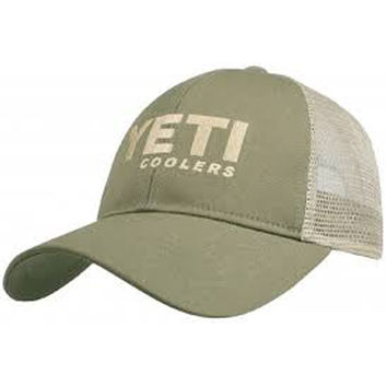 YETI Trucker Hat Olive/Tan