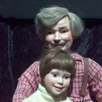 Danbury Mint Porcelain Dolls From Generation to Generation Set By Judy Belle