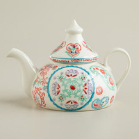 Travelers' Christmas Teapot
