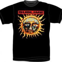 ROCKWORLDEAST - Sublime, T-Shirt, Sun Black
