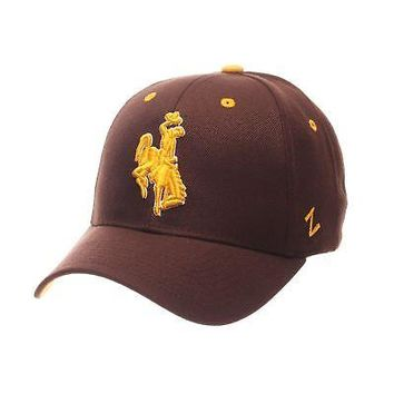 Licensed Wyoming Cowboys Official NCAA Competitor Adjustable Hat Cap by Zephyr 114346 KO_19_1