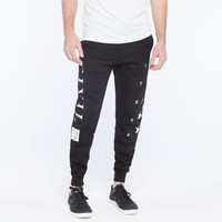 Civil All Star Mens Sweat Pants Black  In Sizes