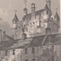 1870s Antique Print Cawdor Castle, Nairn. Drawn by R.W.Billings (A5) by Grandpa's Market