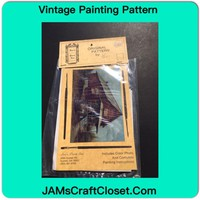 Vintage Painting Packet #31 Red Brick Country Store