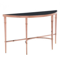 Elite Console Table | Rose Gold