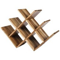 Threshold™ Acacia 8 - Bottle Wine Rack : Target