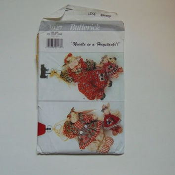 Butterick 3927 Needle in a Haystack Hanging Cows and Bunny