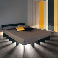 Double bed BEAM by Lago | design Lagostudio, Ewan Robertson