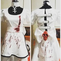 Alice Madness Returns Hysteria dress cosplay