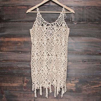 barcelona crochet cover-up