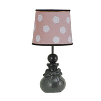 Petit Tresor  Gabrielle Floral Print Baby Girl Lamp with Shade