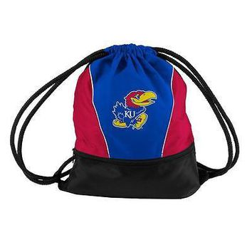 Kansas Jayhawks KU Bag String Sprint Backsack