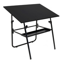 Studio Designs Ultima Fold-A-Way Drafting Table - Black or White