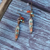 Sonora Feather Earrings