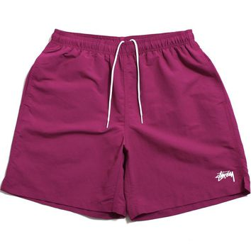 Stock SU19 Water Shorts Berry