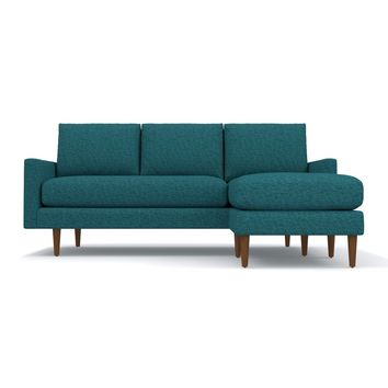 Scott Reversible Chaise Sofa CHOICE OF FABRICS