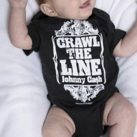 Johnny Cash Onesuit, Crawl The LIne Onesuit