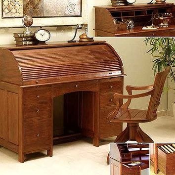 Escritorio secreter lino muebles from - Muebles coloniales ...