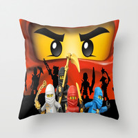 Lego Ninjago Throw Pillow by Store2u