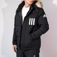 hcxx 457 Adidas Men's Thickened Thermal Cotton Clothing Outdoor Cotton Clothing Coat
