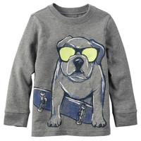 Long-Sleeve Dog Tee