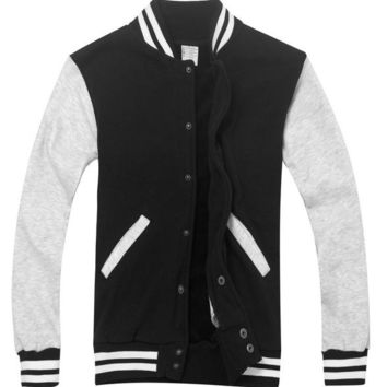 College Varsity Baseball Jacket Assorted Colors For Men