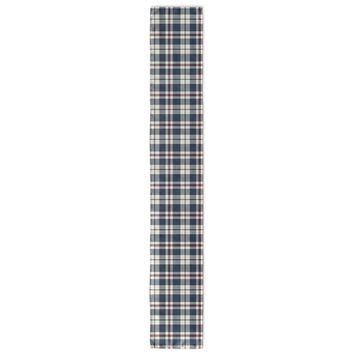 PATRIOTIC PLAID Table Runner By Northern Whimsy