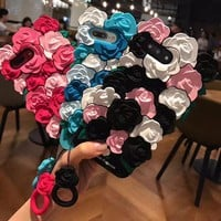 Lovely 3D Rose Flower Back Covers For Apple iPhone 7 6 6s Plus Shell Case Mobile phone accessories protect Caque housing For 7