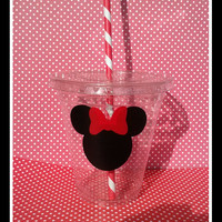12/12OZ Minnie Mouse Party Cups/Minnie Mouse Birthday/Minnie Mouse Cup/Kids Cups/Mickey Party Favor/Kids Party Cup/Minnie Party Favors