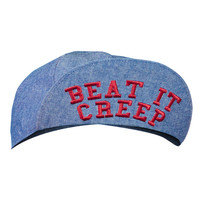 Beat It Creep Messenger Hat