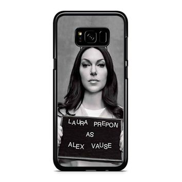 Orange Is The New Black Alex Vause 1 Samsung Galaxy S8 Plus Case